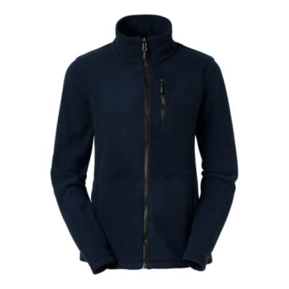 Fleece zip Alma navy