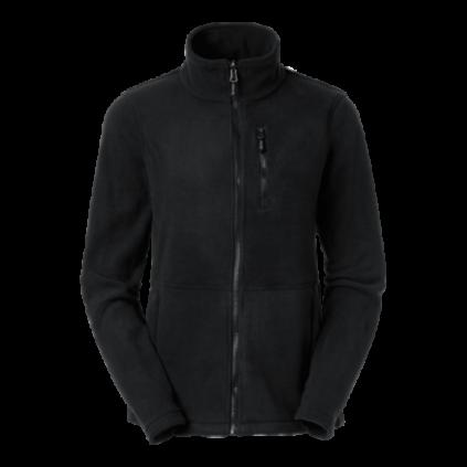 Fleece zip Alma black