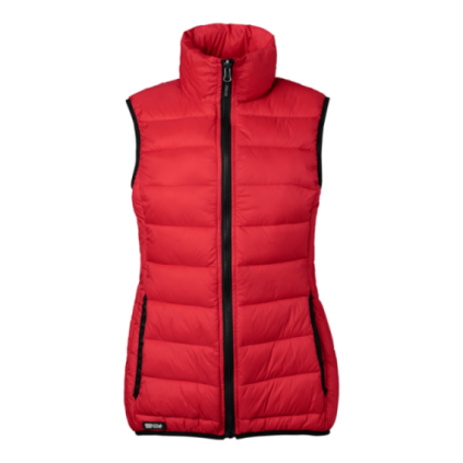Vest Alma Dame - red
