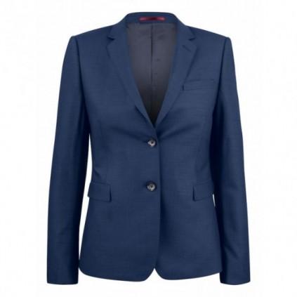 JH&F Classic Blazer 20 Woman Navy Melange