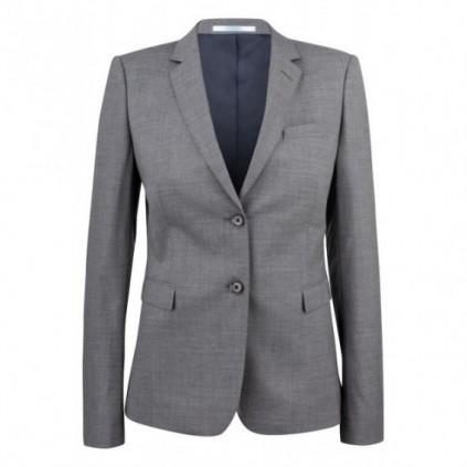JH&F Classic Blazer 20 Woman Grey Melange