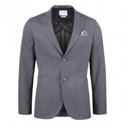 JH&F Club Blazer 30 Grey Melange