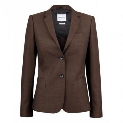 JH&F Club Blazer 30 Woman Brown Melange